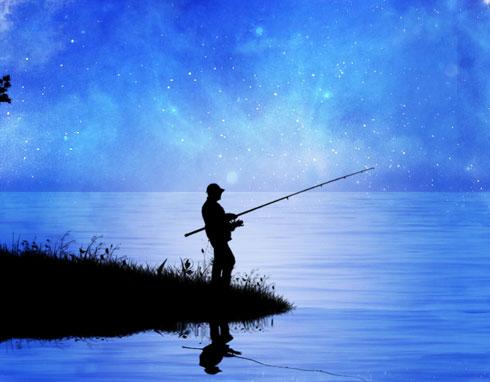 На озере шейно